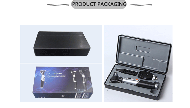 Portable clinic Otoscope and Ophthalmoscope Set