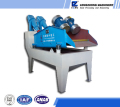 Single spray sand recycling machine