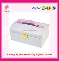 white color makeup box hinge for jewelry box
