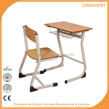 high quality plywood children's desks and chair