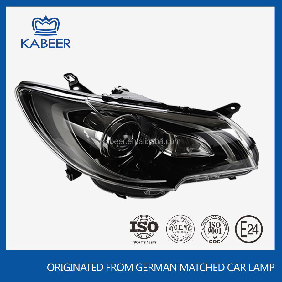 Car head light halogen head lamp type for toyota car corolla altis 2013