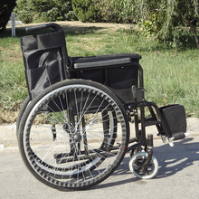 Cerebral palsy wide wheels light weight traveling wheel chair