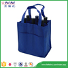 SEDEX/SGS Factory supply promotional customized wholesale canvas wine tote