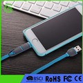 Amazon supplier 1m 2 in 1 usb data cable wire for apple and android mobile phone