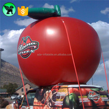 Promotion Fruit Replica Inflatable Customized Outdoor Event Inflatable Giant Apple A2098