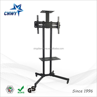 mobile stand for TV, DVD, Game console, conference meeting TV stand cart
