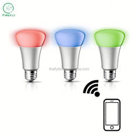 OEM available compatible Iphone and Andrio wifi smart led light bulb for smart home