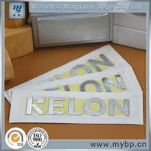 TV adhesive metal aluminum nameplate