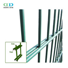 Plastic iron galvanized 868 twin wire fence