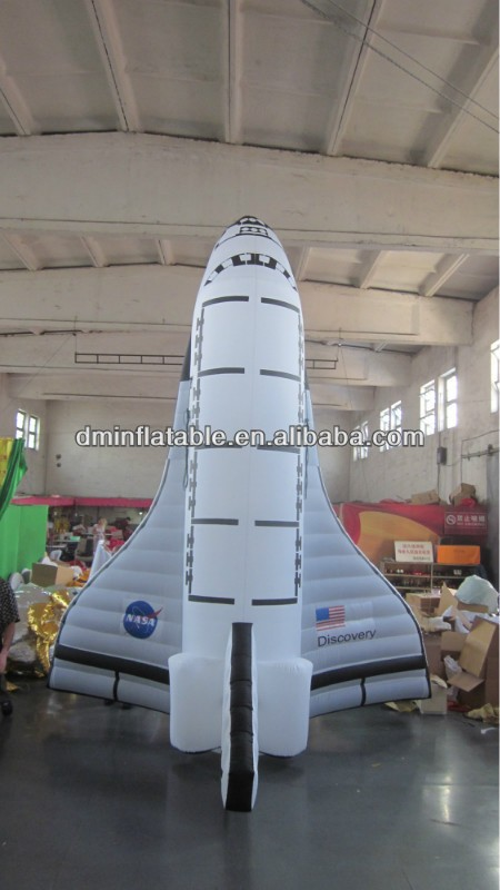 inflatable space shuttle, giant inflatable spaceship YG-5