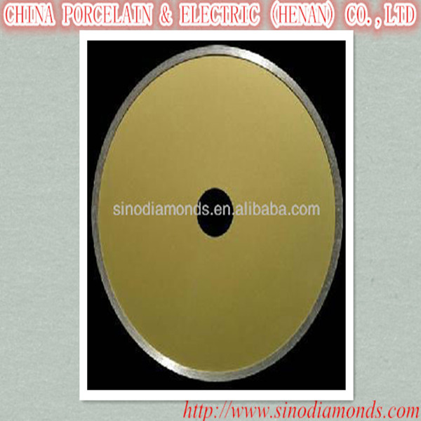 sintered cold and hot pressing diamond slitting saw blade for building materials