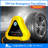 TPF Micro air compressor 12V for Car auto electric tire inflator pump