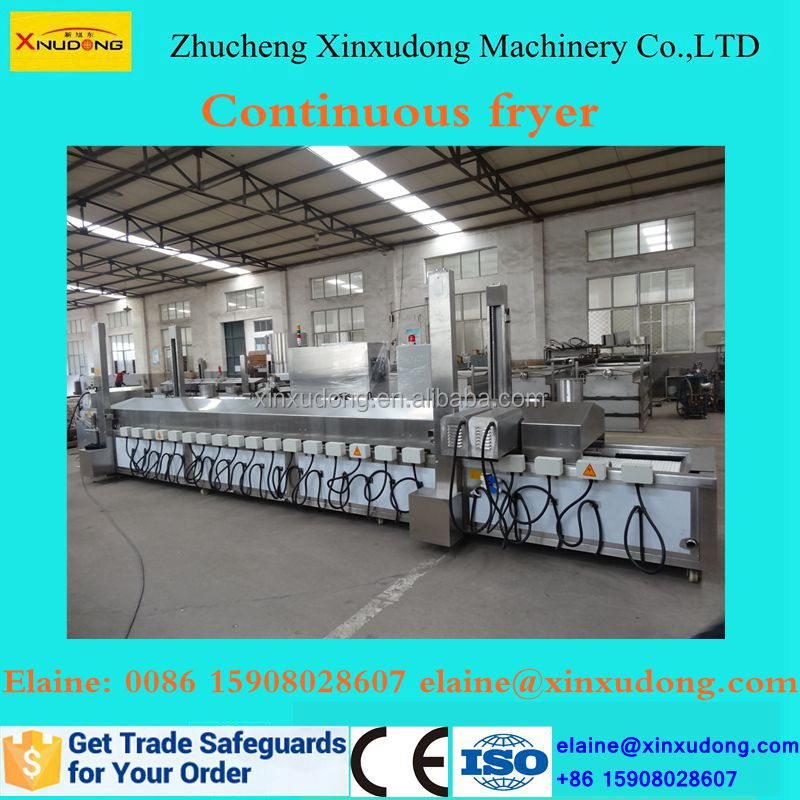 gas deep fryer for fried chicken/auto fryer/nuts frying machine