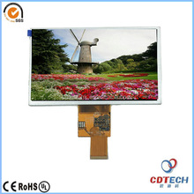 7inch tft lcd screen resistive touch panel