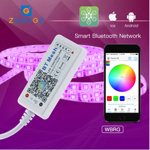 hot electronic products,Free APP,Mesh adressable led dream color strip controller for led light ring