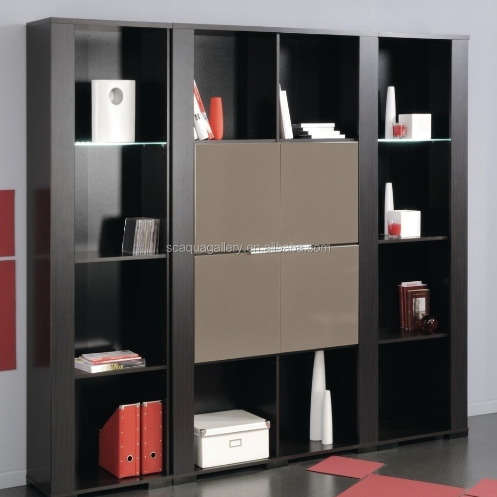 2017 Hot Selling Modern Design Bookcase With Drawer
