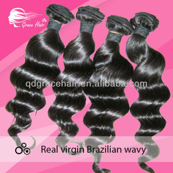 Hot selling very good quality real virgin brazilian wavy
