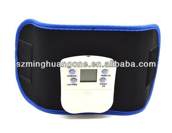 electric vibration massage belt machine with CE&ROHS approved