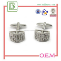Wedding Occasion and Men's Gender silver cufflinks