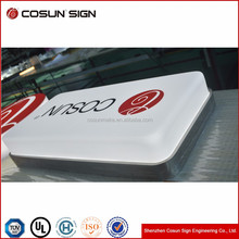 led Vacuum forming advertising light box