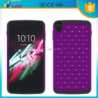 Newest PC With Silicone Hybrid Cell Phone Case Back Cover For Alcatel One Touch POP C5 5036D OT5036 5036 5036A