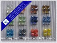Colorful Glass Marbles for children playing and decoration