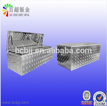 Custom OEM aluminum sheet metal Fabrication Metal Truck Tool Box.aluminum tool box for trucks