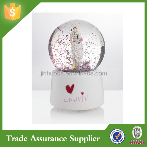 Custom wedding favors snow globe kit wholesale