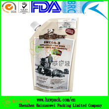 strong durable stand up dog food package