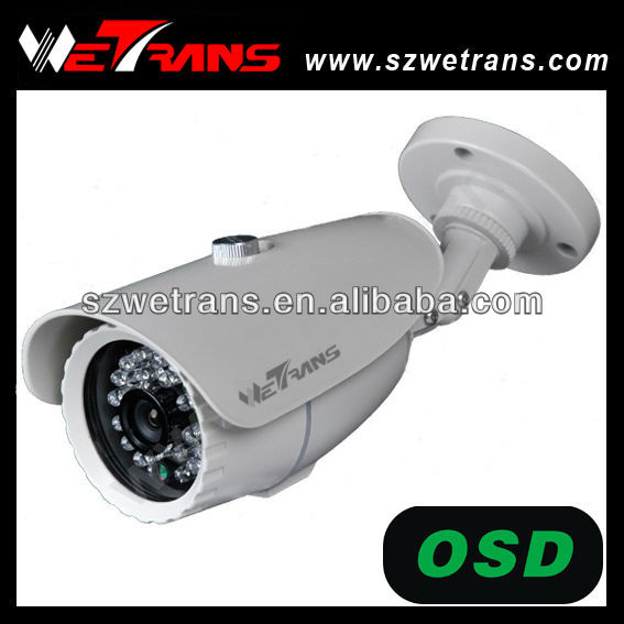 Wetrans Waterproof 1/3 Sony Super Had CCD 700TVL Color Bullet Camera