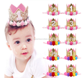 Princess Kids Foam Crowns Pretty Baby Girls Princess Tiaras Crowns Headband, Birthday Party crown tiaras Hair Accessories