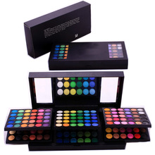 2016 New Products two layers eye shadow,kiss beauty cosmetic eyeshadow,lady cosmetics 180 colors