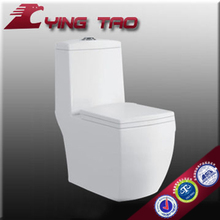 elegant siphonic sanitary ware best selling modern WC floor mounting white 1piece toilet smart installation funiture toilet