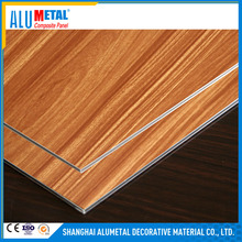3D Curtain wall wood/marble aluminium solid panel/composite panel