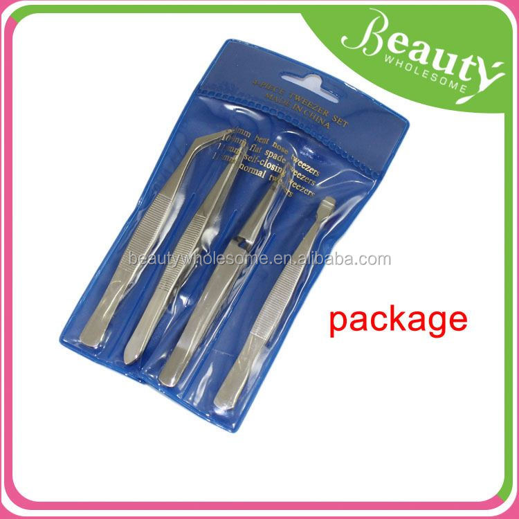fashion led light tweezers ,H0T016, popular all stainless steel series handy tweezer