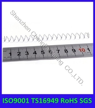 RoHS compliant customized metal rectangular compression spring