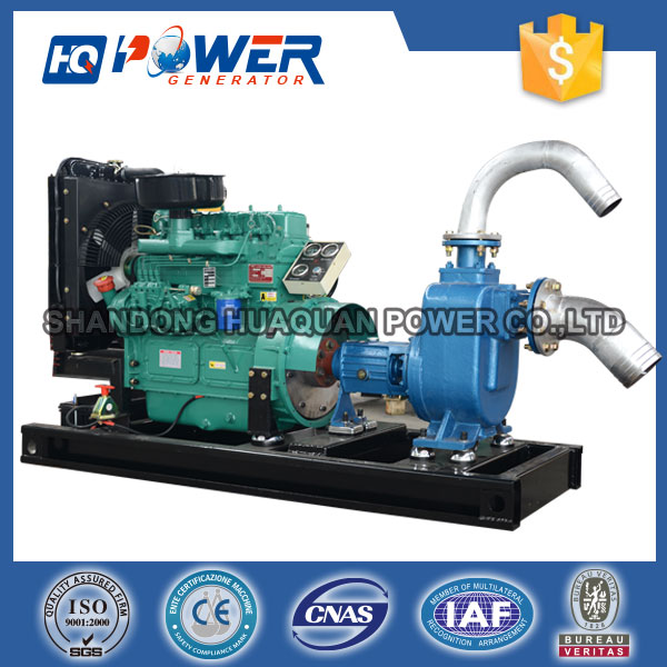 30kw agricultural irrigation water pump with diesel engine