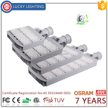 180 degree Easy Install meanwell outdoor price 150w 100w led street light/led light street