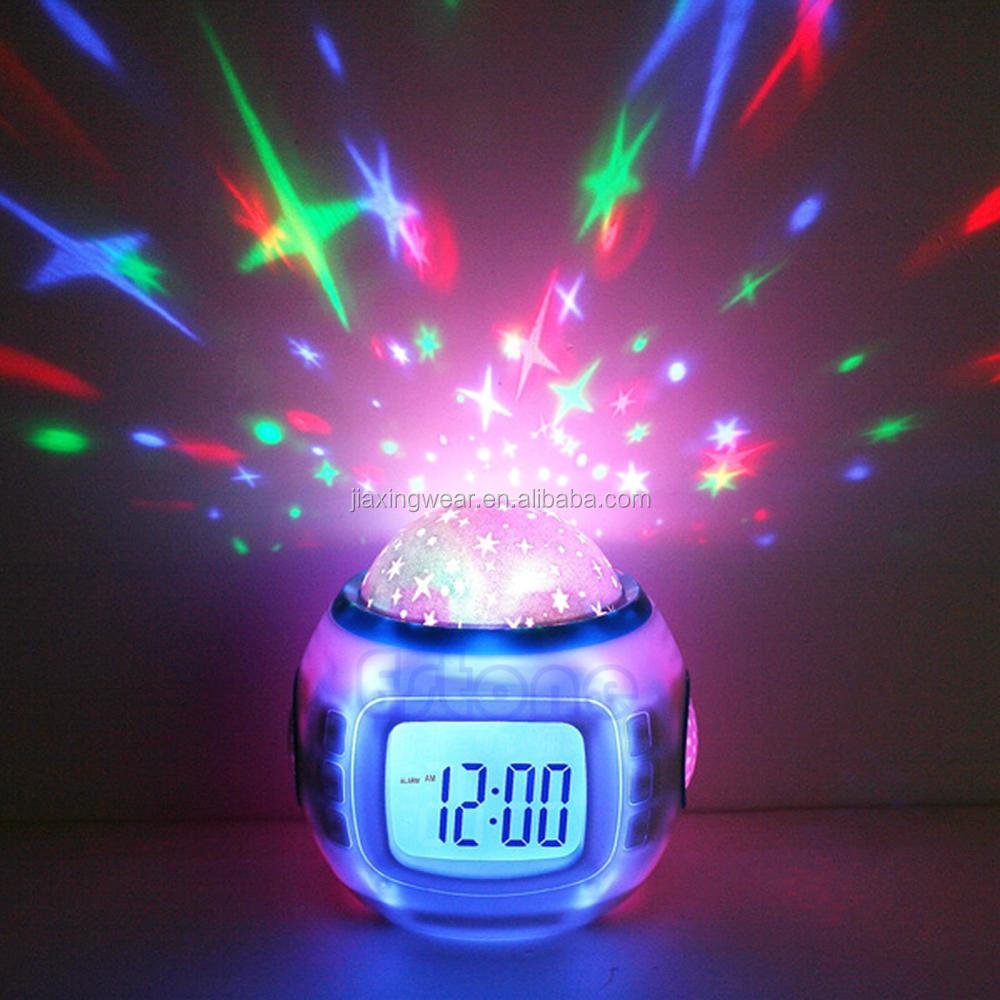 2016 advertising snooze light alarm clock