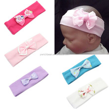 New style Infant Baby bow Hairband Turban Knot Headband small be Headwear Hair Band wh-1501