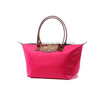 Bag Type and satin Material foldable shopping bag