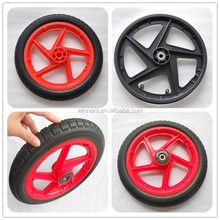 12 inch plastic balance bike wheel 12x1.75