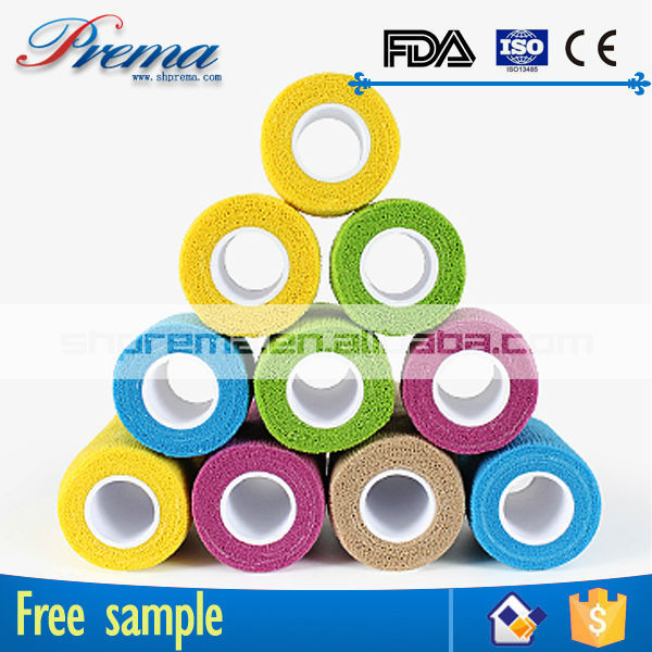 Own Factory Direct Supply Non-woven Elastic Cohesive Bandage oca optical adhesive tape
