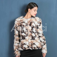 latest coat design for women faux fur coat