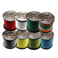 super strength 16 strands 1000 m 0.16mm --2mm 20LB-500LB PE braided fishing line