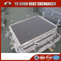 manufacturer og plate and bar aluminum brazed hydraulic oil cooler for cat