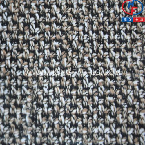 Printed Velvet Fabric 2014 New Design Wool Knitted Pattern Fabric