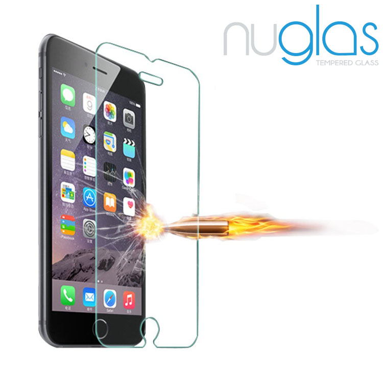 Nuglas Mobile Phone Screen Film for iPhone 7 Screen Protector 9H Tempered Glass Film