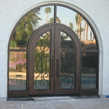 Entrance Main Forged Iron Entry Double Doors View Forged Iron Entry