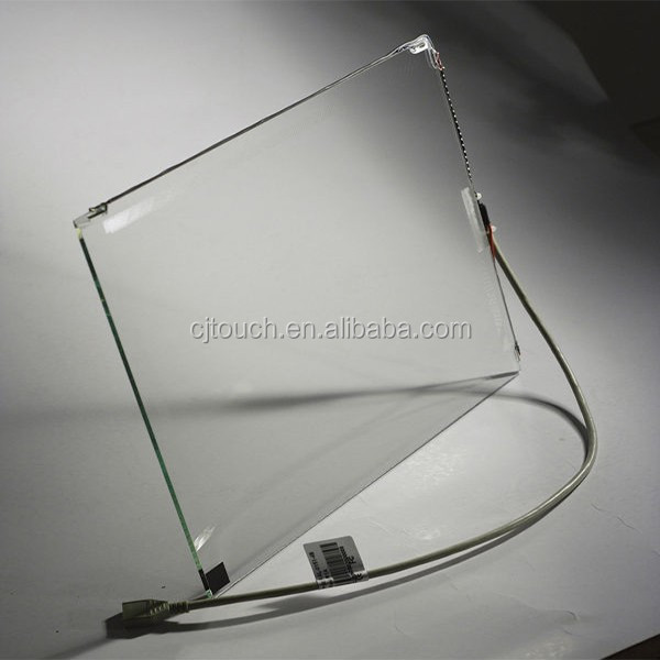 "[8-32""] 6mm saw touch screen panel,19"" SAW touch screen for internet Kiosks,touch panel 19"""